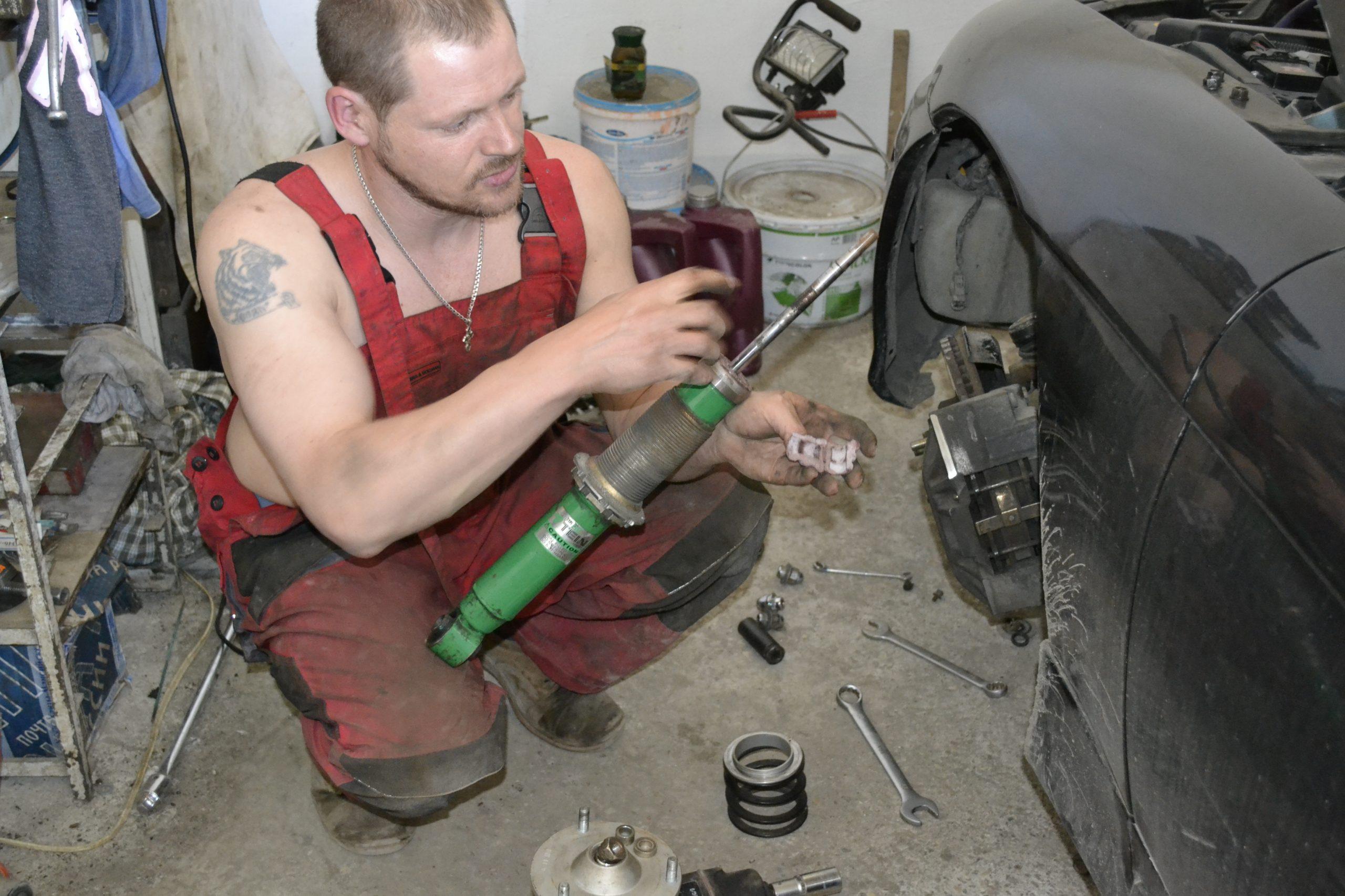 Правильный ремонт амортизаторов