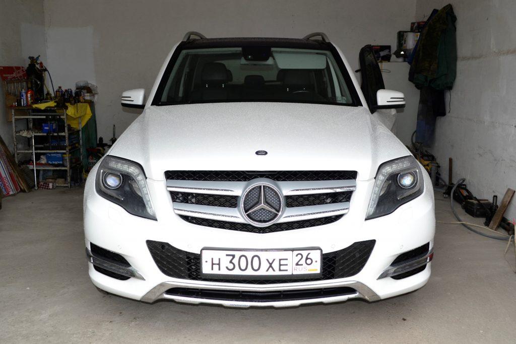 Стук передних стоек Mercedes-Benz GLK