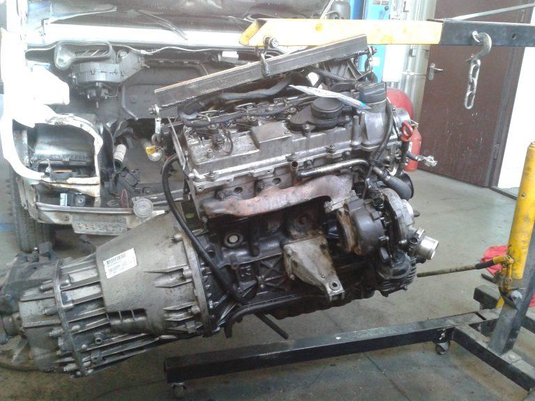 Ремонт двигателя OM611 Mercedes-Benz Sprinter