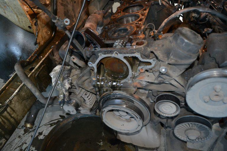 Ремонт двигателя OM646 Mercedes-Benz Sprinter
